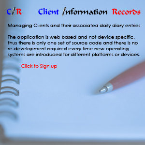Management Of Client Information Records